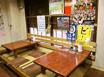 神楽(かぐら)の座敷席